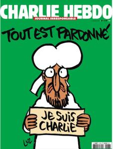 La Une du Charlie Hebdo historique n° 1178